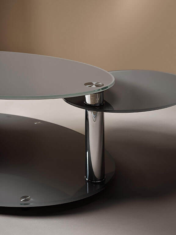 Table basse Manhattan, avec fonction pivotante, Living Rom
